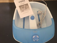 Visiq bubble foot massager. Excellent condition, used once. Collection only from Langley Moor.