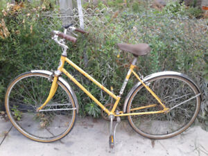 Huffy Open Road Cruiser Bike + New U-Lock for $20
