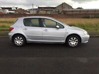 04 REG PEUGEOT 307 1.4 MOT 1 YEAR astra focus golf civic megane citroen c4