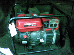 HONDA GENERATOR FOR SALE!