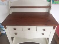Beautiful robust changing table