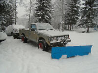 Snowplowing service Horsefly area! Great Rates starting @ $30