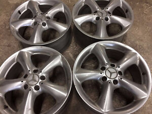 MERCEDES BENZ 18 INCH RIMS AND NISSAN 19 INCH RIMS
