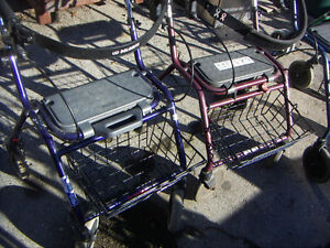 Walkers, several types, from $30.00 to $95.00