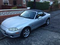 02 MAZDA MX5 CONVERTIBLE // WINTER BARGAIN