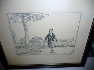 """Peter Etril Snyder """"The Errand"""" Signed and Numbered  (62/250)"""