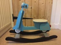 Wooden rocking scooter - great condition