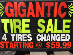 SOUTHERN NB DISCOUNT TIRE ROTHESAY AVE, SPRING/SUMMER SALE
