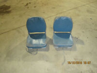 2 boat seats for small boats  or bleacher stands