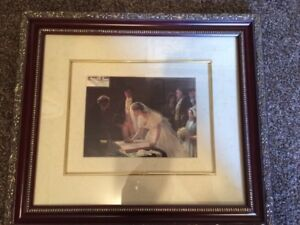 wall art, picture frame- total of 2
