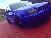 Vw Bora 1.9 diesel blue Modififed/DUB/Lowered/VAG BARGAIN £1300 takes it today NOT BMW AUDI AMG VXR