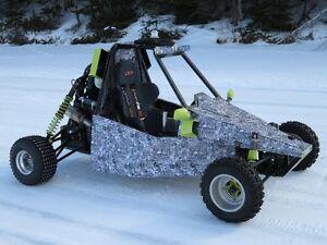 ice buggy  -  dune buggy  -  go kart