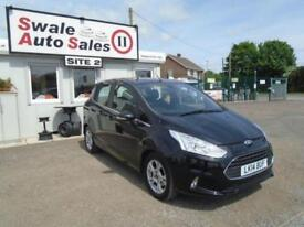 2014 FORD B-MAX 1.0 ZETEC - 33,496 MILES - SERVICE HISTORY - LOW MILES - £30 TAX