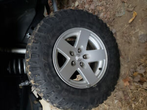 Jeep TJ Rubicon wheels and tires