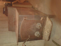 Large Fisher wood stove 300 obo