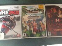 Wii Games for Sale! 3 for 10$
