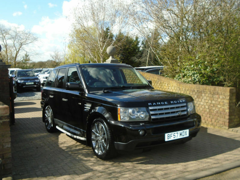 2007 57 reg land rover range rover sport 2 7td v6 auto hse. Black Bedroom Furniture Sets. Home Design Ideas