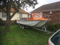 Wilson flyer type fishing boat