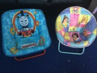 Childrens Disney Saucer Chairs