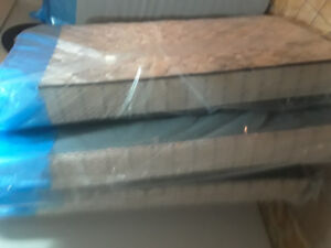 Twin mattress and box spring set new never used still in plastic