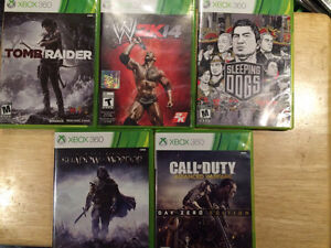XBOX 360 GAMES FOR SALE GOOD PRICES