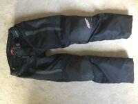 Rst,Sinaqua Motorbike trousers xxl / 38 waist
