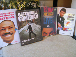 Comedy DVDs--Seinfeld-Mr. Bean--Eddy Murphy-$3.each