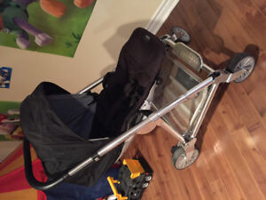 Mamas and papas black stroller