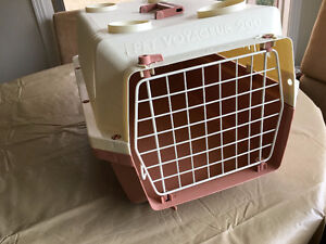 KENNEL CRATE  CARRIER  DOG OR CAT    2 individual  prices vary