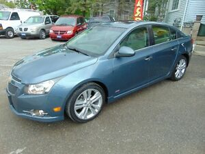 2012 Chevrolet Cruze LTZ  RS Turbo w/1SA Sedan(Loaded)
