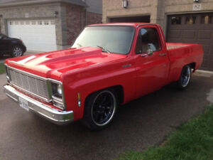 1980 Chevrolet C10 Chevy squarebody truck short box