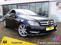 2012 (12) Mercedes Benz C250 Cdi Blueefficiency AMG Sport Coupe 2dr - 34K MILES