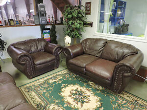 Couch set, coffee tables and rug