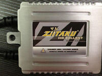 Ziitaku AC Xenon HID Replacement Ballasts, New, 1-Year Warranty