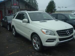 Mercedes-Benz ML350 bluetech 2012