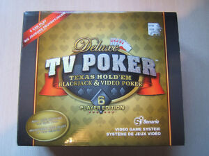Deluxe TV Poker Plug & Play