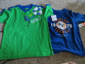 2 BNWT boys size 5 t-shirts Kitchener / Waterloo Kitchener Area image 2