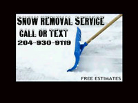 SNOW CLEARING SERVICE