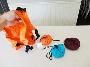 Six Brand New Randy Bag Foldable Back Packs - $3.00 each Kitchener / Waterloo Kitchener Area image 2
