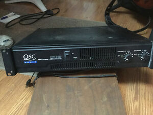 Power amplificateur QSC audio