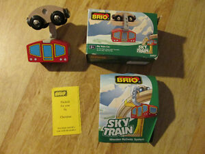BRIO Sky Train Car Wood Metal Toy Boxed NIB Thomas Tank Engine