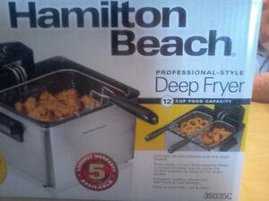 Hamilton Beach Professional -Style Deep Fryer