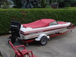 18' Reinell Bowrider with 115 Merc Outboard