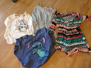 Teens tops and short jumpsuit