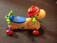 **reduced price** Vtech horse ride on toy