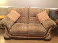 2 and 3 seater fabric sofas