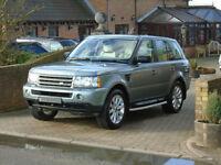 2006 56 Reg Land Rover Range Rover Sport 2.7TD V6 Auto HSE ( 84000 Miles )