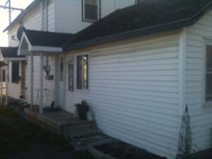 napanee, one bedroom ground level apartment