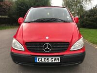 Mercedes Vito 111 CDI Compact SWB (red) 2005