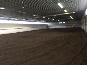 Indoor Arena SW of Calgary
